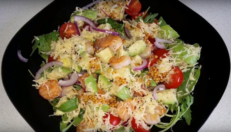 Салат с креветками для беременных 52