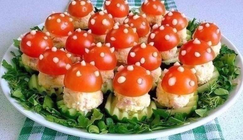 вкусные рецепты салатов на праздничный стол с фото
