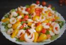 Салат с креветками. Очень вкусные рецепты салата из креветок