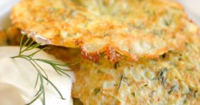 Оладьи из кабачков. Самые вкусные рецепты кабачковых оладий