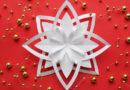 Снежинки на Новый 2019 год своими руками из бумаги: пошаговые схемы, шаблоны и трафареты