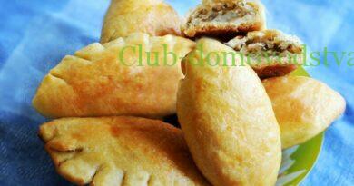 Пирожки с капустой в духовке — быстро  и вкусно. Рецепт приготовления пирожков с капустой на дрожжевом тесте
