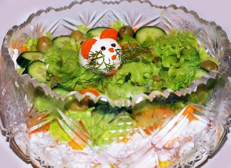 Самые вкусные салаты на Новый год 2020: рецепты с фото, новые, лучшие –  Рецепты с фото | 581x800