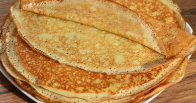 Заварные блины на молоке и кипятке с дырочками – рецепты с пошаговыми фото