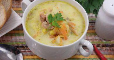 Сырный суп с плавленым сыром — рецепты супа из плавленого сыра с пошаговым описанием