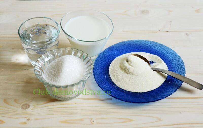 Манная каша на молоке - классические пошаговые рецепты