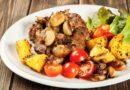 Картошка с грибами на сковороде – рецепты с пошаговыми фото